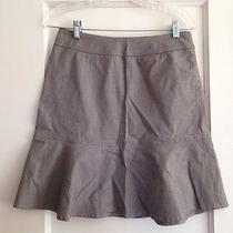 Gap Black and White Mini Check Fluted Skirt -4- Nwt Photo