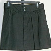 Gap Black Shorty Skirt Size 0 Nwot Photo