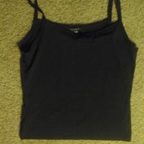 Gap Black Tank Top Stretch Medium Photo
