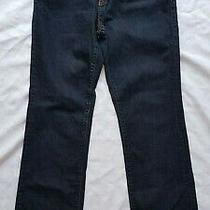 Gap - Blue Boot Cut Stretch Leg Zip Fly Trousers Jeans - Size Waist 28