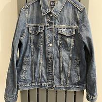 Gap Blue Denim Jacket Size L Photo