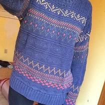 Gap Blue Heavy Sweater Photo