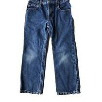 Gap Blue Jeans Unisex Easy Fit Kids Size 6 Straight Leg Boys Girls Photo