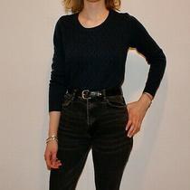 Gap Blue Knit Sweater Womens Size Medium Photo