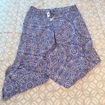 Gap Blue & White Pajama Lounge Pants Women's Size Xl Photo