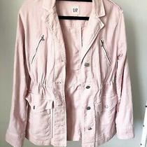 Gap Blush Pink Utility Jacket Xs Photo