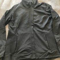 Gap Body Fit Black Full Length Zipper Jacket Womens Size Xl Photo