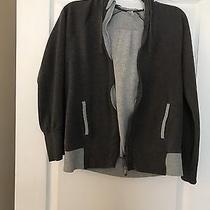 Gap Body Fit Zip Up Hoodie Size Small Gray Photo