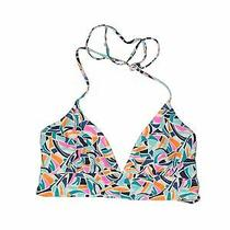 Gap Body Outlet Women Blue Swimsuit Top Xl Photo