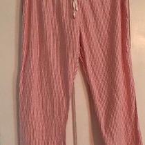 Gap Body Pajama Cropped Pajama Pants Xtra Small Vguc Photo