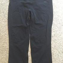 Gap Bodyfit Body Fit Black Capri Yoga Athletic Exercise Tights Pants Wmns Large Photo