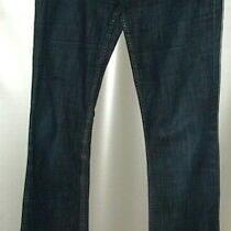 Gap Boot Cut Dark Blue Stretch Jeans Wa30inch Leg 34inch Photo
