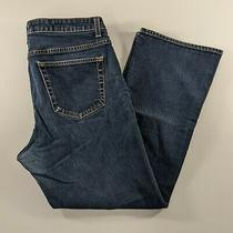 Gap Boot Cut Stretch Blue Denim Jeans Womens Size 14 Ankle Photo