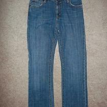 Gap Bootcut Stretch Jeans Size 6 Ankle Denim 29x29 1/2 Distressed Photo
