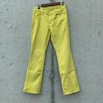 Gap Bootcut Yellow Jeans  31r Photo