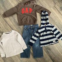 Gap Boy 5t Lot Jeans Sweatshirt Shirts Euc Photo