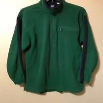 Gap Boys Youth Kids Fleece Pullover Jacket Size Xxl Green Photo
