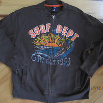 Gap Boy Zip Up Brown Sweatshirt Size 10 Y (L) Photo