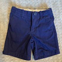 Gap Boys 2t Shorts Navy Blue Toddler Preppy Uniform Photo