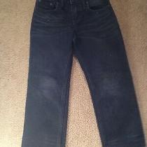 Gap Boys Black Faded Original Jeans Size 5 Photo