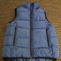 Gap Boys Blue Puffer Vest - Size L Photo