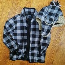 Gap Boys Fleece Jacket / Hat Size 4 Photo