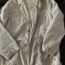 Gap Boys Seersucker Striped Jacket Blazer Size L Photo