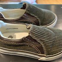 Gap Boys Shoes - Corduroy - Olive Green - Size 7 Photo