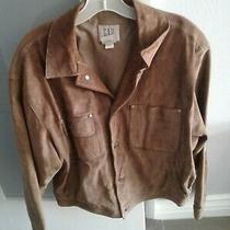 Gap Brown Suede Women Jacket  Size M Photo