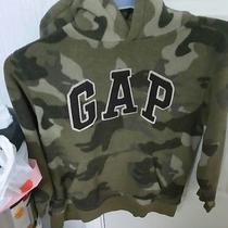 Gap Camouflage Hooded Fleece Sweatshirt Youth 10 or Large  Photo