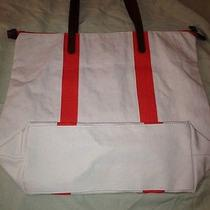 Gap Canvas Colorblock Tote Bag