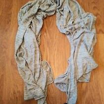 Gap Casual Gray Large Scarf One Size Os Beautiful Winter  Photo