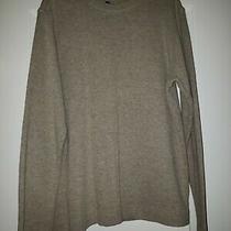 Gap Classic Fit Soft Tan Heathered Long Sleeved Shirt Size S Euc Photo