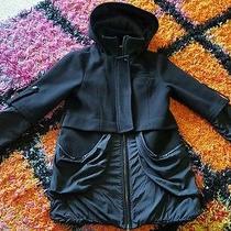 Gap Coat/jacket Size 10 Black  Photo