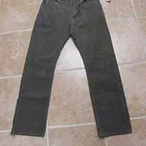 Gap Corduroy Jeans 31 X 30 Color Black Beach Brand New Photo