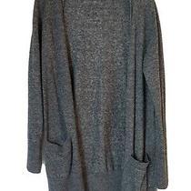 Gap Cotton Cardigan Women's Sweater Navy Sz L Photo