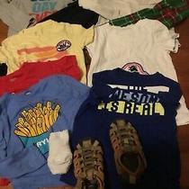 Gap/crazy8/old Navy/oshkosh Boy Spring/summer 15pcs Clothes Lot Size4-5 Photo