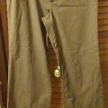 Gap Curvy Fit Brown Size 8 Pants Ankle (Stretch W Spandex) Flare Leg Waist 32