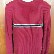 Gap Dark Barn Red Sweater Long Sleeve Size M Medium Photo