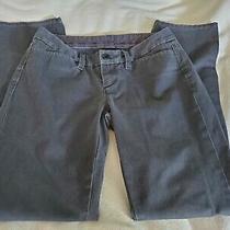 Gap Dark Gray Slacks Dress Pants Women's Size 2 Ankle Stretch Photo
