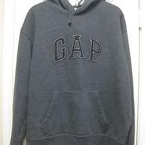 Gap Dark Grey Pullover Hoodie - Large Photo