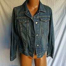 Gap Denim Jean Jackets Size Womens Large Photo