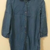 Gap Denim Lightweight Long Sleeve Jacket Size Xs Photo