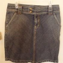 Gap Denim Mini Skirt  Size 10 Photo