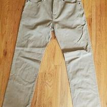 Gap Denim Straight Fit Pants Color Tan Size 31x30 for Men New With Tags  Photo
