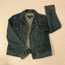 Gap Denim Western Jacket Womens Size Medium. Great Pre-Owned Condition. Photo