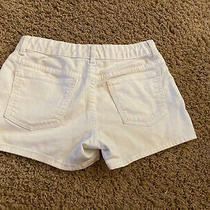 Gap Denim White Shortie Shorts Girls 14 Regular Photo