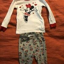 Gap Disney Minnie Mouse Pajamas 3t Photo