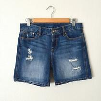 Gap Distressed Denim Shorts 6