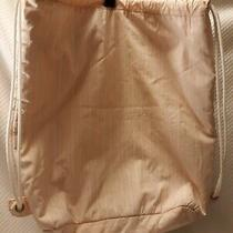 Gap Drawstring Backpack Women Soft Cotton New Photo